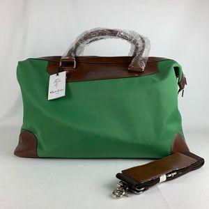 Robert Graham Adams Nylon Overnight Bag NWT